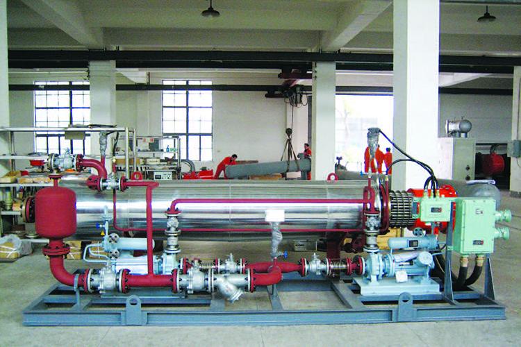 撬体式导热油加热器2